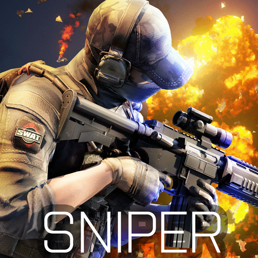Blazing Sniper – offline shooting game APK MOD