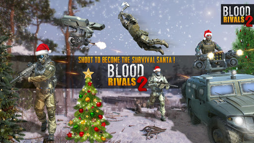 Blood Rivals 2 Tireur de survie de Nol screenshots 1