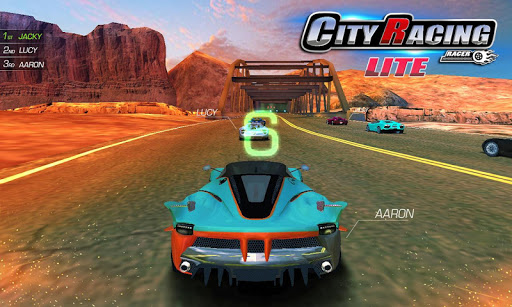 City Racing Lite screenshots 1