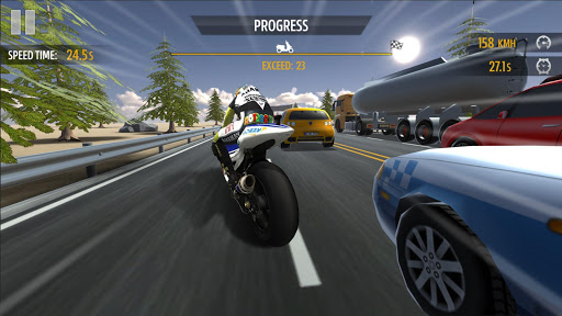 Course de moto screenshots 1