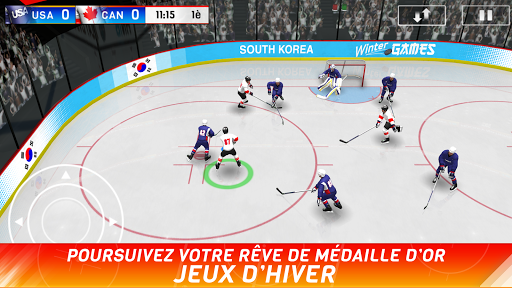Hockey Nations 18 screenshots 1