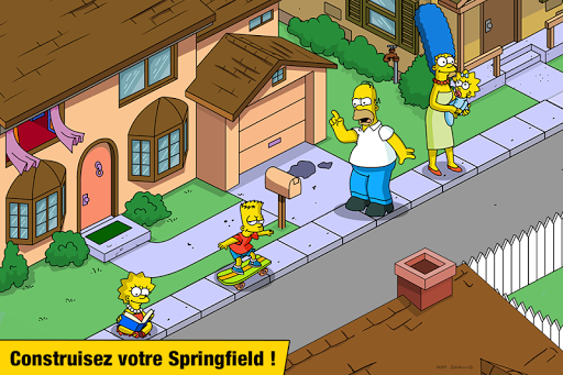 Les Simpson Springfield screenshots 1