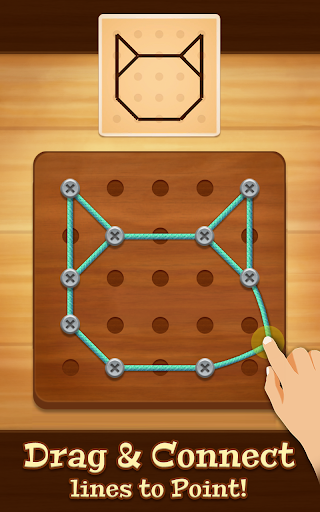 Line Puzzle String Art screenshots 1