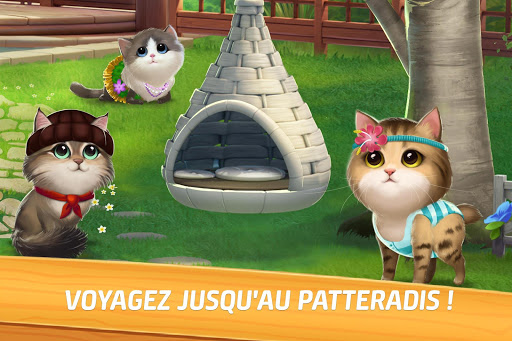 Miaou Match Sage de Chat et Match 3 amp Casse-Tte screenshots 1