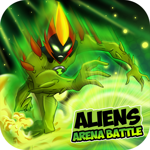 Aliens Arena Mega Alien War Transform APK MOD