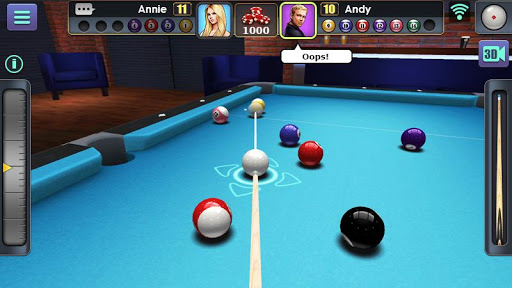 Billard 3D screenshots 1