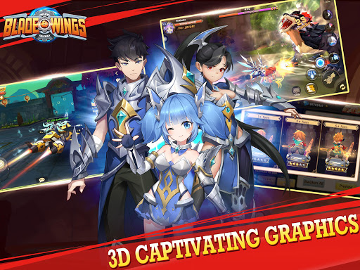 Blade amp Wings 3D Fantasy Anime of Fate amp Legends screenshots 1