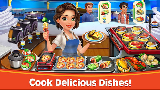 Cooking Rush – Chefs Fever Games screenshots 1