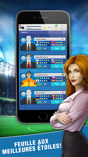 Football Agent – Mobile Foot Manager 2019 screenshots 1