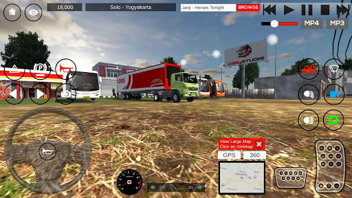 IDBS Indonesia Truck Simulator screenshots 1