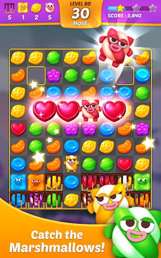 Lollipop Sweet Taste Match3 screenshots 1