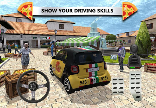 Pizza Delivery Simulateur de Conduite screenshots 1