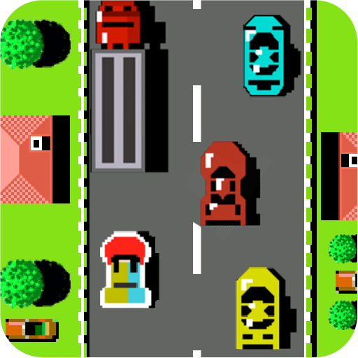 Road Racing – Car Fighter – Classic NES Car Racing APK MOD