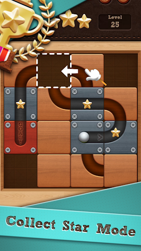 Roll the Ball slide puzzle screenshots 1