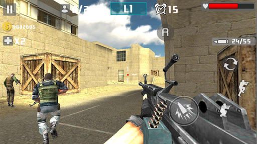 Shot Gun War Feu screenshots 1