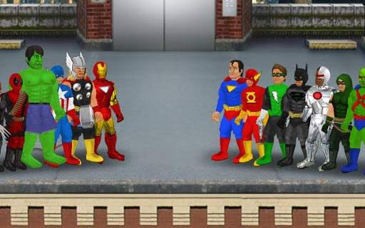 Super City Superhero Sim screenshots 1
