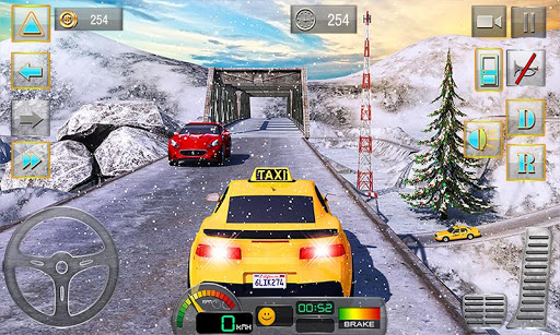 Taxi Driver 3D Hill Station screenshots 1