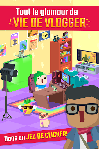 Vlogger Go Viral – Clicker screenshots 1