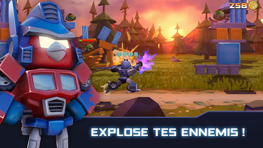 Angry Birds Transformers screenshots 1