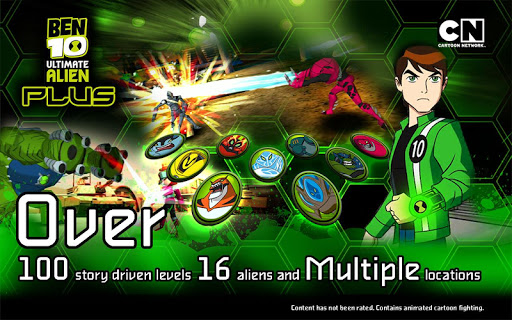 Ben 10 Xenodrome Plus screenshots 1