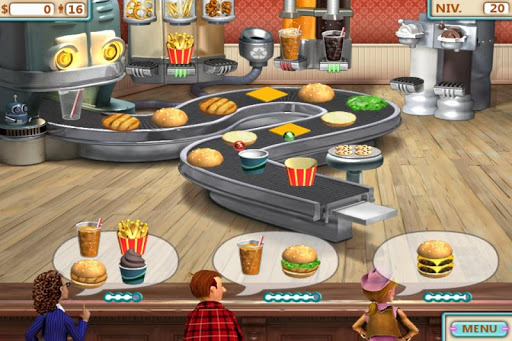 Burger Shop FREE screenshots 1