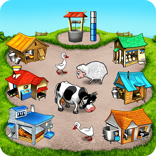 Farm Frenzy Free Time management game APK MOD