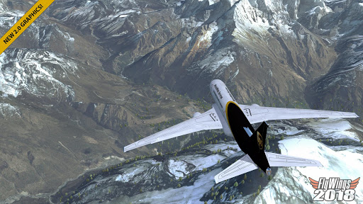 Flight Simulator 2018 FlyWings Free screenshots 1