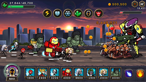 HERO WARS Super Stickman Defense screenshots 1