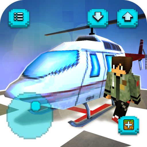 Helicopter Craft Jeu de vol et de construction APK MOD