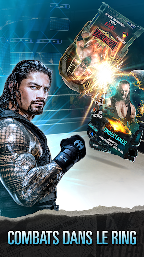 WWE SuperCard – Jeu de cartes multijoueur screenshots 1