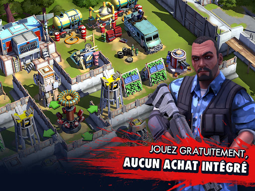 Zombie Anarchy Survival Strategy Game screenshots 1