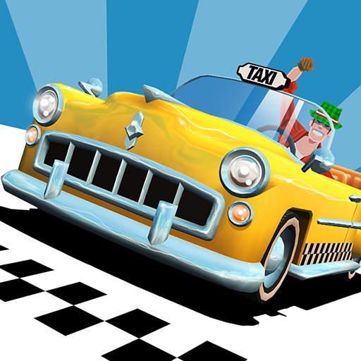 Crazy Taxi City Rush APK MOD