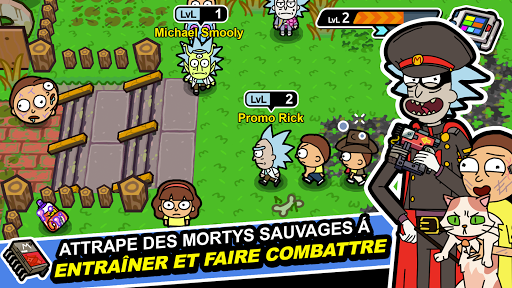 Pocket Mortys screenshots 1
