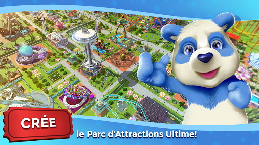 RollerCoaster Tycoon Touch – Parc dattractions screenshots 1