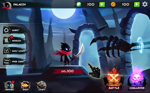 Shadow Stickman Fight for Justice screenshots 1