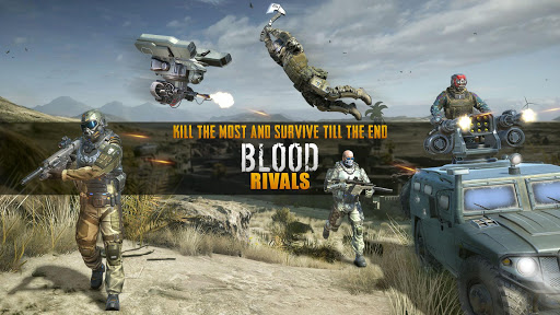 Blood Rivals Jeux de tir de survie screenshots 1