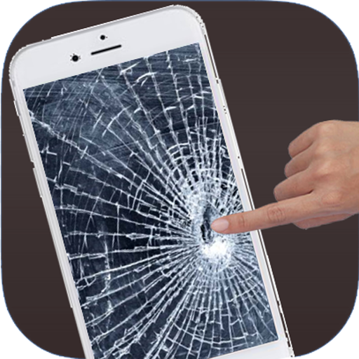 Broken Screen Prank Crack Fire Electric Screen APK MOD