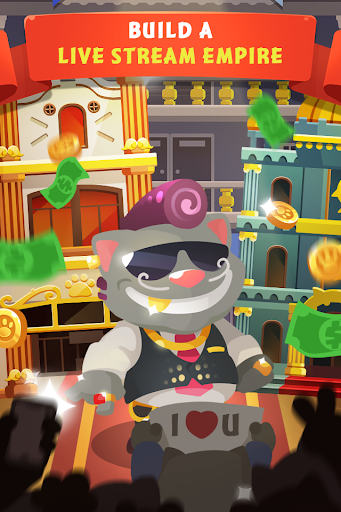 Idle Cat Tycoon Build a live stream empire screenshots 1