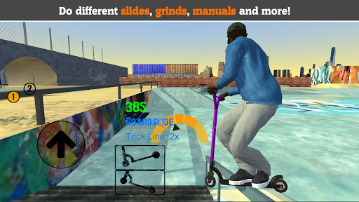 Scooter FE3D 2 – Freestyle Extreme 3D screenshots 1