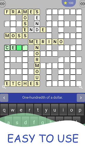 English Crossword puzzle screenshots 1