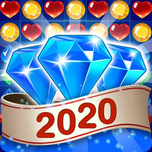 Gems Jewel Crush – Jeu de puzzle Match 3 Jewels APK MOD