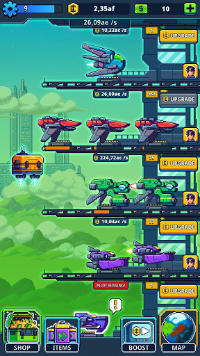 Idle Space Tycoon – Jeu Zen Incrmental screenshots 1