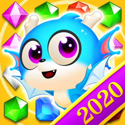 Jewel Blast Dragon – Match 3 Puzzle APK MOD