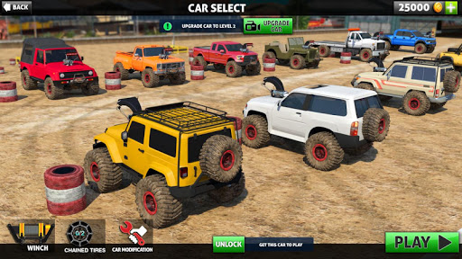 Off Road Monster Truck Driving – SUV Car Driving screenshots 1