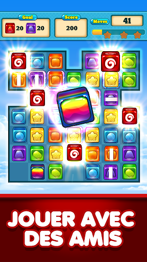 Match 3 Candy Cubes Puzzle Blast Games Free New screenshots 1