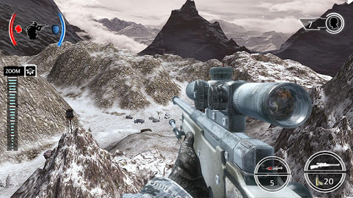 Mountain Sniper Shooting 3D FPS screenshots 1