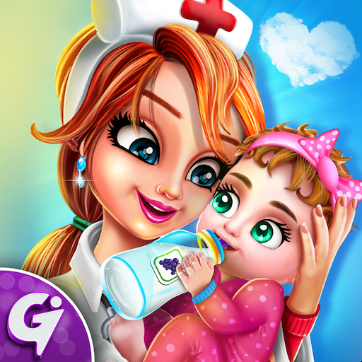 Pregnant mom Newborn Baby Care Center game APK MOD