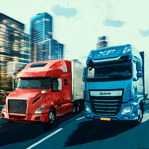 Virtual Truck Manager – Tycoon trucking company APK MOD