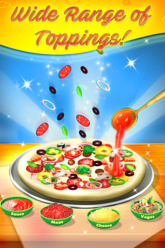 Supreme Pizza Maker – Kids Cooking Game screenshots 1