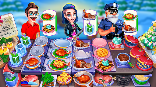 Christmas Cooking Crazy Food Fever Cooking Games screenshots 1